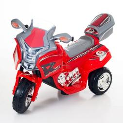 Ride on Toy, 3 Wheel Motorcycle Trike for Kids, Battery Powe