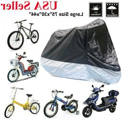 Adult Bicycle Tricycle Cover Bike Motorcycle Dust-proof Wate