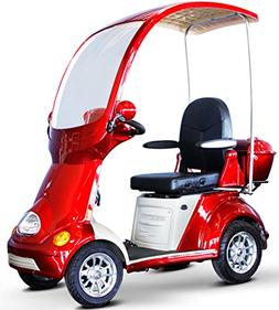Adult Electric Mobility Scooter with Roof, Four Wheel, Golf