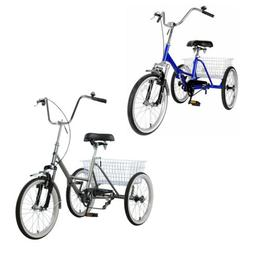 "Folding Adult Tricycle 20"" Wheels Portable Bike Bicycle Fold"