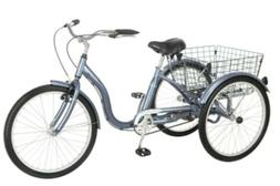 adult meridian 24 inch tricycle
