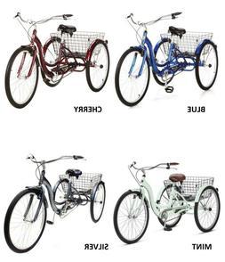 Adult Tricycle Bike Schwinn Meridian 3 Wheel Trike Comfort F
