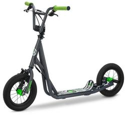 Mongoose Air Tire Kid's Scooter, 12-Inch Air-Inflated Wheels