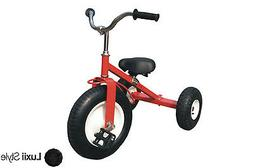 All Terrain Classic Red Tricycle Heavy Duty Steel Adjustable