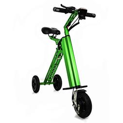 CHO Aluminum Light Weight Electric Folding Bike, Foldable Tr