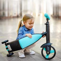 Baby Scooter <font><b>Tricycle</b></font> Baby 3 In 1 Balanc