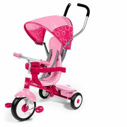Baby Stroller 4 in 1 Secure 3 Point Harness Removable Canopy