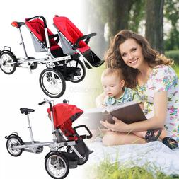 Baby Stroller Pushchair Folding Bicycle Mother-baby Tricycle