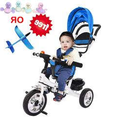 Baby Stroller Tricycle For 1 Year Old Kid Bike Toddler Bicyc