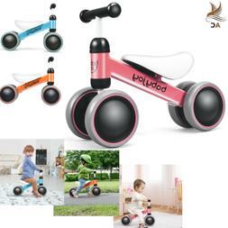 Balance Bike 4 Wheels No-Pedal Baby Ride On Toy Toddler Walk