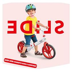 HZL Balance Bike for Kids, Children's tricycle Adjustable an