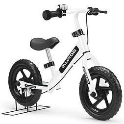 "UNITECH 12"" Kids Balance Bike No-Pedal Glide Running Bicycle"