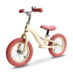 "COEWSKE 12"" Balance Bike for Kids Children Running Bicycle A"