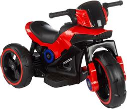 Battery Operated Electric Tricycle Ride-On Toy with Built-in