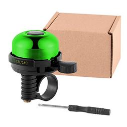 TAXIDEA Bicycle Bell Mini Aluminum Alloy Bike Bell  Loud Cle