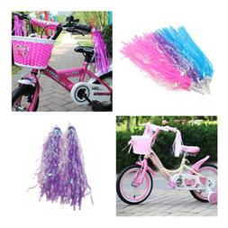 Bicycle Bike Streamers Tricycle Kids Girls Handlebar Grips T