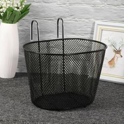 Bicycle Grocery Basket Bike Front Handlebar Detachable Baske