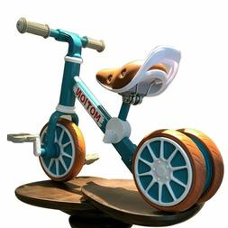 Bicycle Tricycle Kids Balance Bike Training No Pedal Push Fo