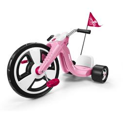 """Big Flyer Sport 16"""" Front Large Wheel Chopper Tricycle Pink"""