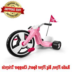 Big Flyer Sport, Chopper Tricycle, 16 in Front Wheel, Pink