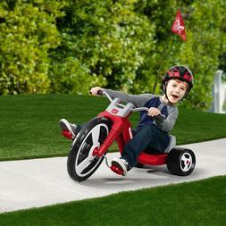 Radio Flyer Big Sport Kids Trike Tricycle Bike Racing Choppe