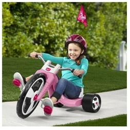 """Big Wheels For Kids Tricycle Girls Pink 16"""" Thick Pedal Fron"""