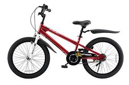 Royalbaby BMX Freestyle Kid's Bike, 20 inch Wheels, Red