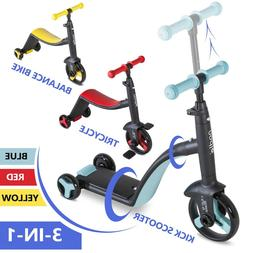 Boy Girl Tricycle Kick Scooter Bike for Kids Toddler 2 3 4 5