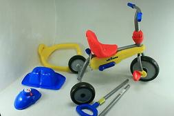 smarTrike Breeze 3 in 1 Baby Toddler Tricycle w Back Push Ba