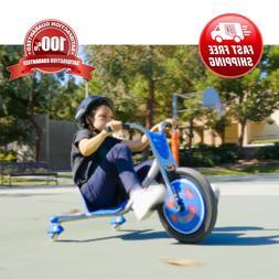 Children Baby Tricycle, Blue Razor 3 Wheel Bike Kid Toddler
