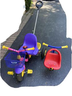 Children Kettler Push tricycle Bike Made in Germany Grows Wi