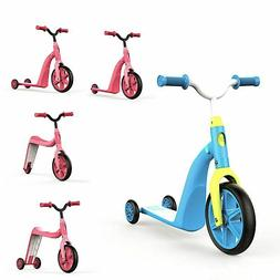 Children Scooter Bicycle 4-in-1 Kids Multi-function Balance