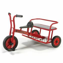 Childs Kids Fire Engine Red Tricycle Ride On Trike Toy - 3 S