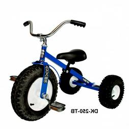 Childs Tricycle All Terrain Tires Adjustable Seat Tilting Ha