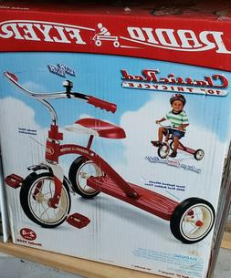 classic 10 inch red tricycle