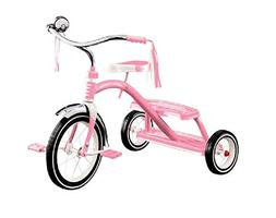 Classic Dual Deck Tricycle 12 In Ages 2-5 Years Chrome Sturd