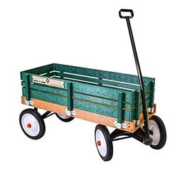 Radio Flyer Classic Green Earth Wagon Utility cart for Kids,