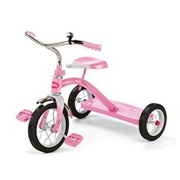 "Radio Flyer 34G, Classic 10"" Tricycle, Pink"
