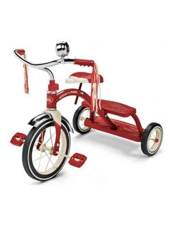 Radio Flyer, Classic Red Dual Deck Tricycle 12' Front Wheel