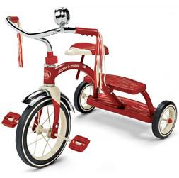 classic red dual deck tricycle 12 red