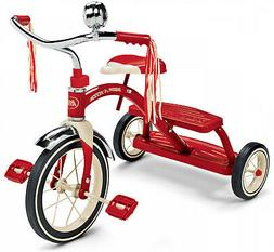 Kids Trike Classic Red Dual Deck Tricycle, 12 Front Wheel, R