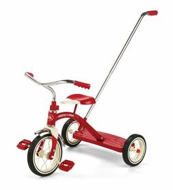 Radio Flyer Classic Tricycle with Push Handle, Red BRAND NEW
