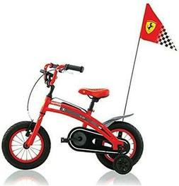 Ferrari CX 10 Kids Bike Sports Race Flag Chain Protection Bi