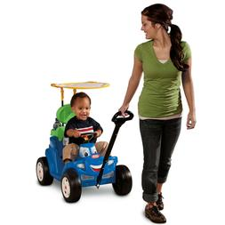Little Tikes Deluxe 2-in-1 Cozy Roadster Ride On Toy Indoor