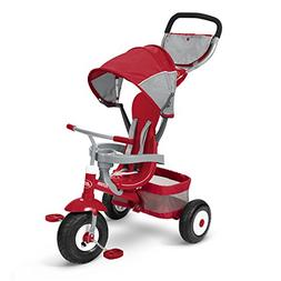 Radio Flyer Deluxe All Terrain Stroll 'N Trike Ride On, Re