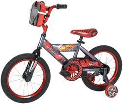 "Boys 16"" Disney Cars Cruiser Bike with Training Wheels"