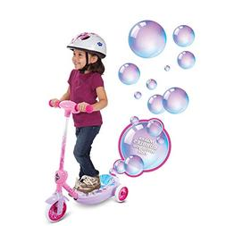 Disney Princess Girls' 6V Electric 3-Wheel Bubble Scooter