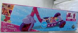 Huffy Disney Princess Preschool Scooter W/ Lights Streamers