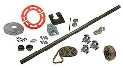 "BMI Karts Drift Trike Axle Kit with Clutch , 40"" Axle Length"