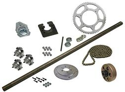 "Drift Trike Axle Kit with Clutch , 36"" Axle Length"